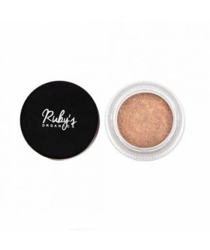 Ruby's Organics Powder Pigment Stellar eyeshadow glitter highlighter shade tone makeup vegan organic