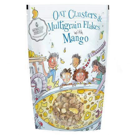 Monsoon Harvest Oat Clusters & Multigrain Flakes with Mango (350gm)