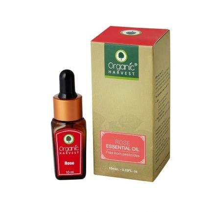 Organic Harvest Rose Essential Oil, 10ml