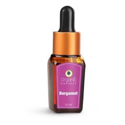 Organic Harvest Bergamot Essential Oil, 10ml