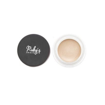 Ruby's Organics Creme Highlighter - Aura highlighter face cheeks lips eyes eyelids organic vegan makeup
