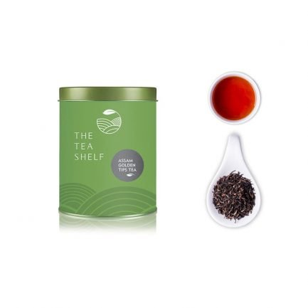 The Tea Shelf Assam Golden Tips Black Tea (50gm)