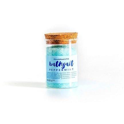 The Herb Boutique - Peppermint Bath Salt (100gm)