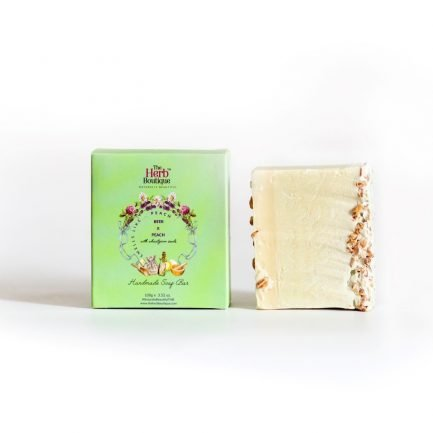 The Herb Boutique - Beer & Peach Soap (100gm)