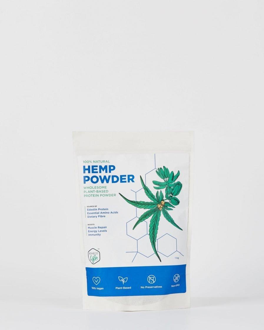 BOHECO Life - Hemp Seed Powder (1000gm)