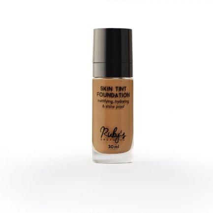 Ruby's Organics Foundation D 03 deep rich skin tone makeup cosmetics india organic