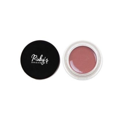 Ruby's Organics Creme Blush - Deep Rose earthy pink dewy makeup cheeks eyes lips shade tone colour organic vegan
