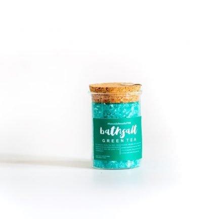 The Herb Boutique - Green Tea Bath Salt (100gm)