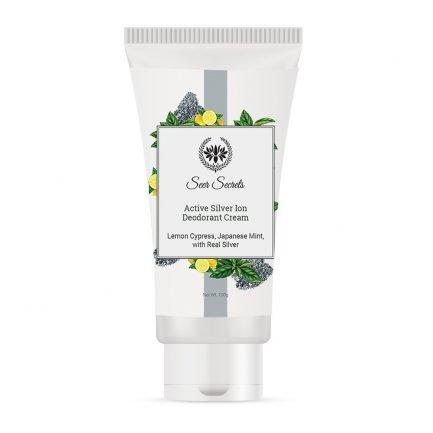 Seer Secrets Active Silver Ion Deodorant Cream