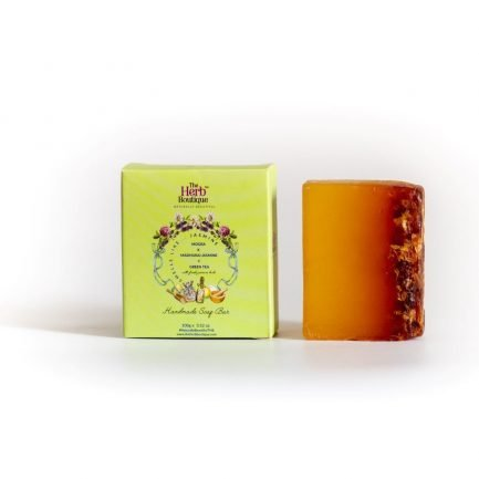 The Herb Boutique - Mogra, Madhurai Jasmine & Green Tea Soap (100gm)