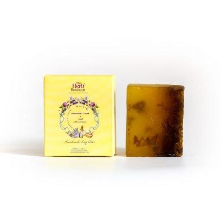 The Herb Boutique - Refreshing Lemon & Mint Soap (100gm)