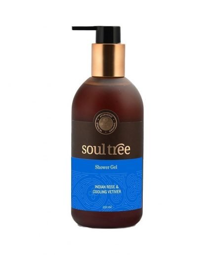 SoulTree Indian Rose & Cooling Vetiver Shower Gel (250ml)