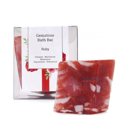 Seer Secrets Ruby Gemstone Bath Bar