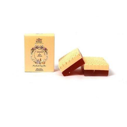The Herb Boutique - Sandalwood & Honey Soap (100gm)