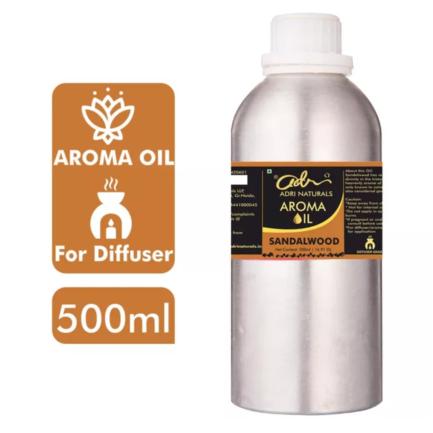 Adri Sandalwood Aroma Oil (For Diffuser Use) (500ml)