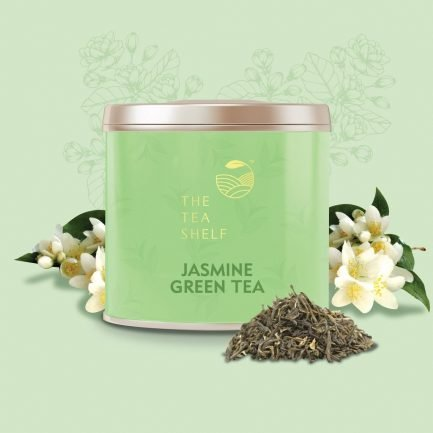 The Tea Shelf Jasmine Green Tea (50gm)