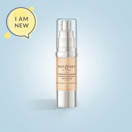 Dot & Key Tinted SPF 50 Mousse, Colour: Natural Nude