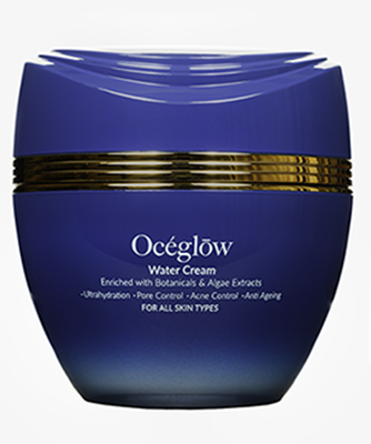 Oceglow - Water Cream Enriched with Botanicals & Algae Extracts (50ml)