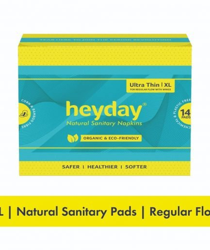HEYDAY Organic Ultra Thin Sanitary Pads XL (Pack of 14)