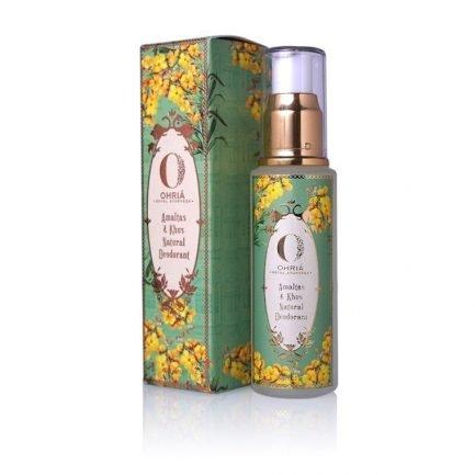 Ohria Amaltas and Khus Natural Deodorant (50ml)