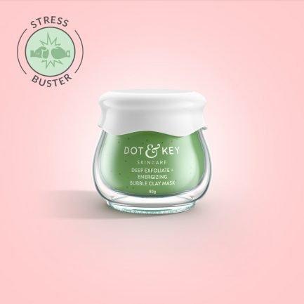 Dot & Key Deep Exfoliate + Energizing Bubble Clay Mask