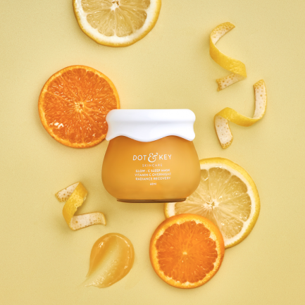 Dot & Key Glow-C Sleep Mask Vitamin C Overnight Radiance Recovery (60ml)