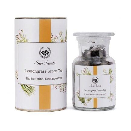 Seer Secrets Lemongrass Green Tea herbal chai organic darjeeling