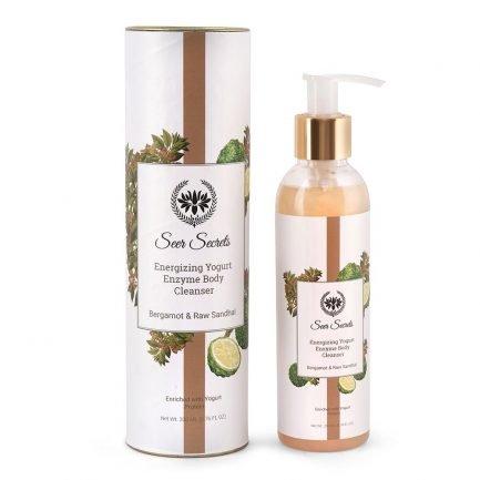 Seer Secrets Bergamot & Raw Sandhal Energizing Yogurt Enzyme Body Cleanser
