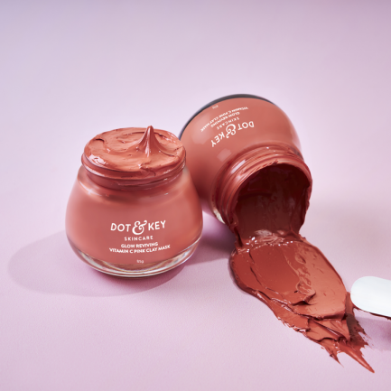 Dot & Key Glow Reviving Vitamin C Pink Clay Mask (50ml)