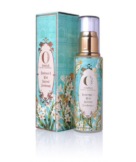Ohria Raatrani & Mint Natural Deodorant (50ml)