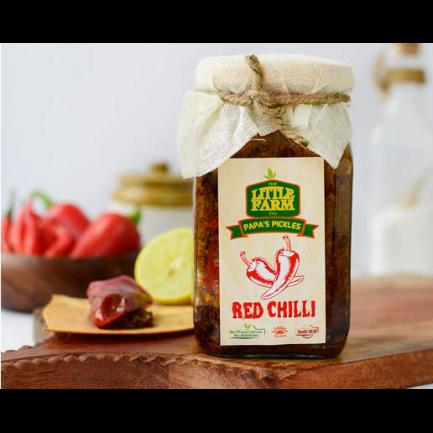 Little Farm Red Chilli Pickle (400gm)