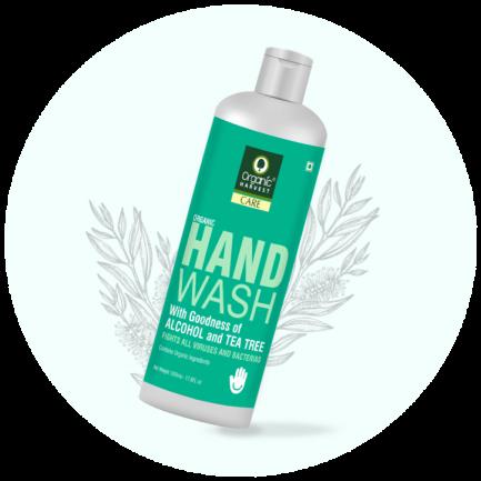 Organic Harvest Hand Wash - Tea Tree (500ml)