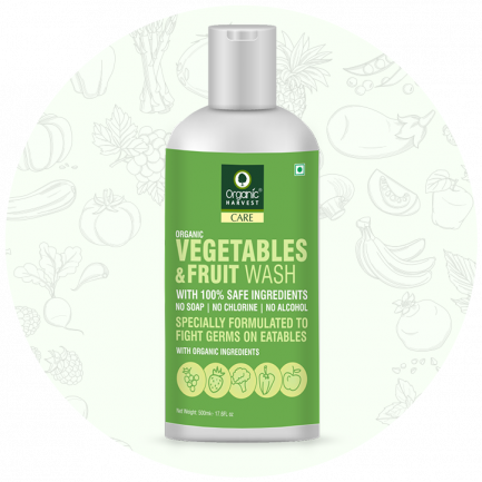 Organic Harvest Vegetables & Fruits Wash (500ml)