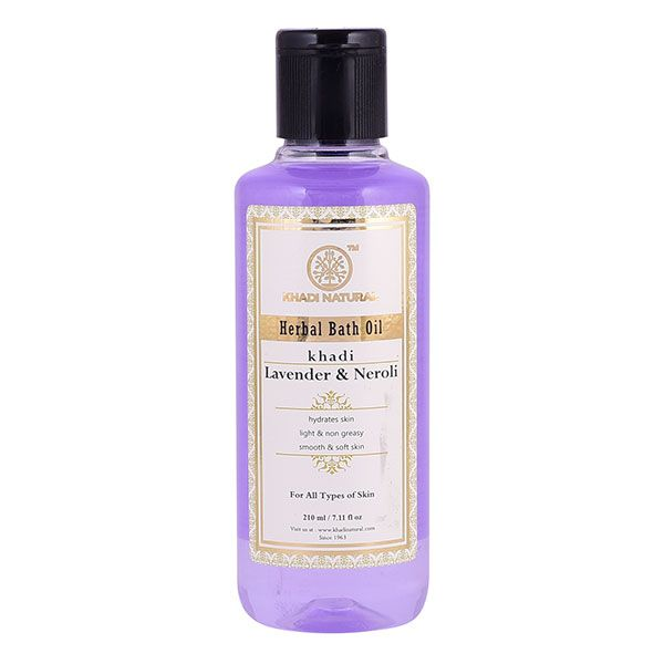 Khadi Lavender & Neroli Bath Oil