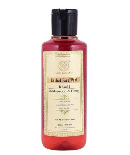 Khadi Sandalwood & Honey Herbal Face Wash (210ml)