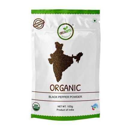 ORGABITE Organic Black Pepper Powder