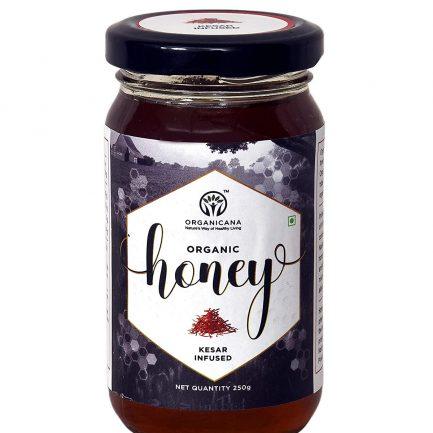 Organicana Pure Raw Organic Honey Bottle (250gm)