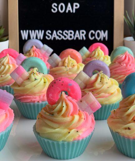 The Saas Bar Glow-up-Cupcake Soap