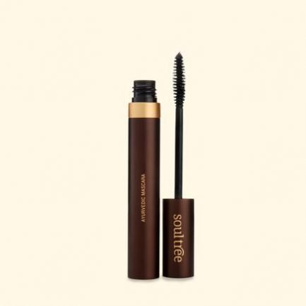 Soultree Pure Black Mascara organic makeup vegan jet-black smooth longer lashes
