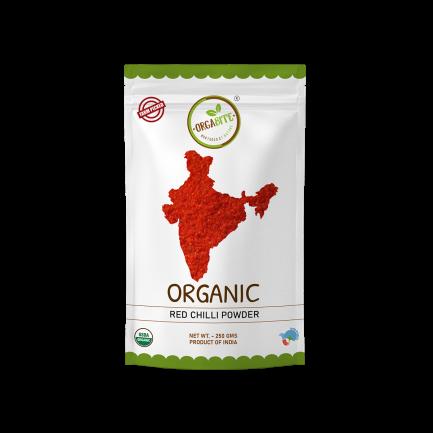 ORGABITE Organic Red Chilli Powder