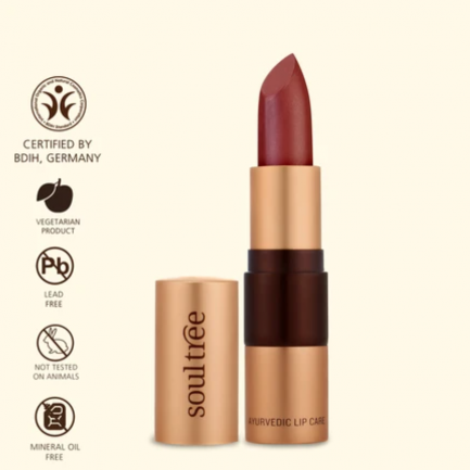 LIPSTICK COCOA RICH 906 shade makeup lips organic cosmetics