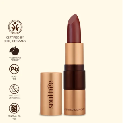 Soultree Lipstick Java Brown 810 shade organic colour