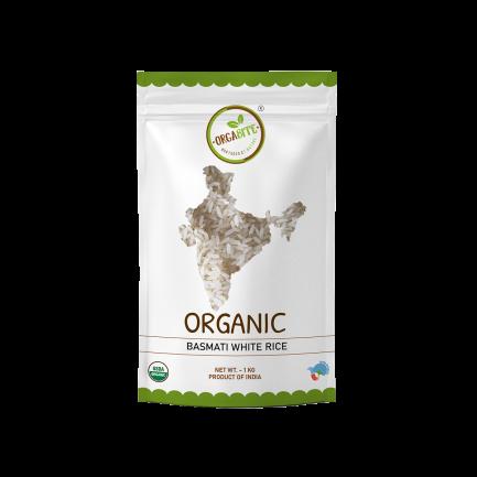 ORGABITE Organic Basmati White Rice