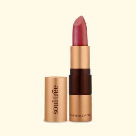 Soultree Lipstick Candy Floss lipstick smooth vegan makeup organic lips india
