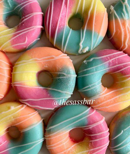 The Saas Bar Summer Bloom Donut Soap