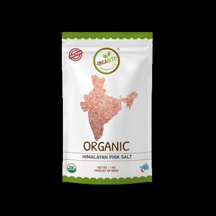 ORGABITE Organic Himalayan Pink Salt