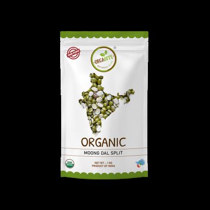ORGABITE Organic Moong Dal Split