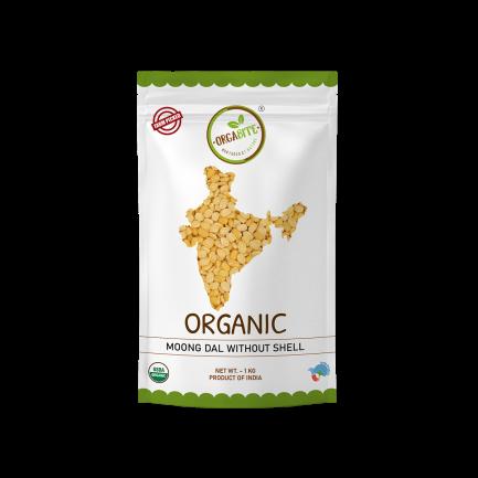 ORGABITE Organic Moong Dal Dhuli