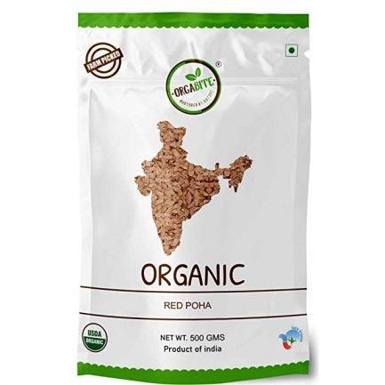 ORGABITE Organic Red Poha