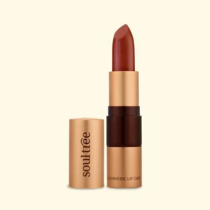 Soultree Lipstick Rich Earth lipstick smooth glow shade makeup vegan cosmetics lips colour